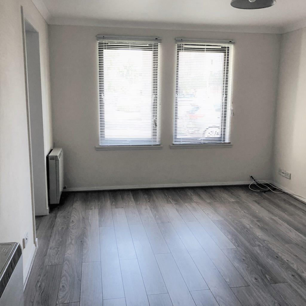 LOUNGE  with stylish laminate flooring